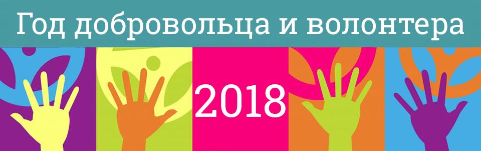2018-Год добровольца и волонтера